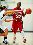 4 January 2010: University of Nebraska Cornhuskers' guard Yvonne Turner, a Senior from Omaha, Nebraska, in action against the University of Vermont Catamounts at Patrick Gymnasium in Burlington, Vermont. The Huskers, finishing off their first perfect non-conference season in school history, improved to 13-0 with the 94-50 win over the Lady Cats. Mandatory Credit: Ed Wolfstein Photo