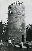 NWA Democrat-Gazette<br /> Rogers First Water Tower<br /> Spring Street by Frisco Railroad<br /> undated