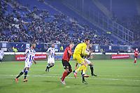 VOETBAL: HEERENVEEN: Abe Lenstra Stadion 29-10-2015, SC Heerenveen, SC Heerenveen - Helmond Sport, uitslag 1-0, Henk Veerman scoorde en kreeg aan het einde van de wedstrijd een rode kaart, ©foto Martin de Jong