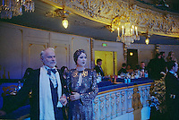 St Petersburg, Russia, 01/01/2003.New Year Ball in the Mariinski Theatre, home of the Kirov Opera &amp; Ballet.