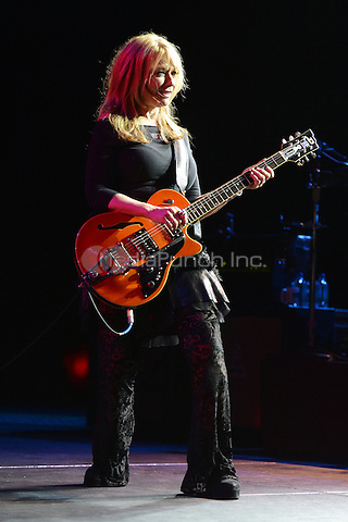 HOLLYWOOD FL - NOVEMBER 4 :  Nancy Wilson of Heart performs at Hard Rock live held at the Seminole Hard Rock hotel & Casino on November 4, 2012 in Hollywood, Florida.  Credit: mpi04/MediaPunch Inc.