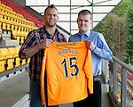 St Johnstone Players Sponsors Night, McDiarmid Park...09.05.12.Alan Mannus.Picture by Graeme Hart..Copyright Perthshire Picture Agency.Tel: 01738 623350  Mobile: 07990 594431