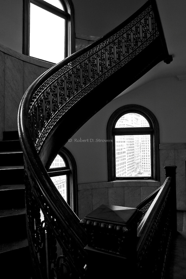 Bank Tower Staircase Study -