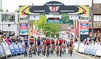 Picture by Alex Whitehead/SWpix.com - 12/05/2017 - Cycling - Tour Series Round 3, Northwich - Matrix Fitness Grand Prix - Team Breeze's Megan Barker, Ellie Dickinson.