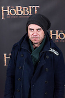 "Javier Collado attends ""The Hobbit: An Unexpected Journey"" premiere at the Callao cinema- Madrid."