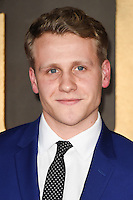 LONDON, UK. November 21, 2016: Josh Dylan at the &quot;Allied&quot; UK premiere at the Odeon Leicester Square, London.<br /> Picture: Steve Vas/Featureflash/SilverHub 0208 004 5359/ 07711 972644 Editors@silverhubmedia.com