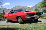 The 1970 Dodge Challenger was Dodge's answer to the Camaro and Mustang. This vehicle is a perfect example of that genre of pony cars.
