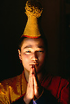 Buddhist Monk, Ulaan Baatar, Mongolia
