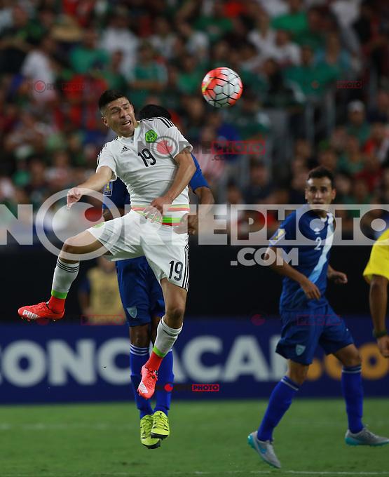 Selecci&oacute;n Mexicana  ,durante partido entre las selecciones de Mexico y Guatemala  de la Copa Oro CONCACAF 2015. Estadio de la Universidad de Arizona.<br /> Phoenix Arizona a 12 de Julio 2015.