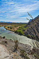 A capture of the San Elena Canyon as the Rio Grande river flows through.