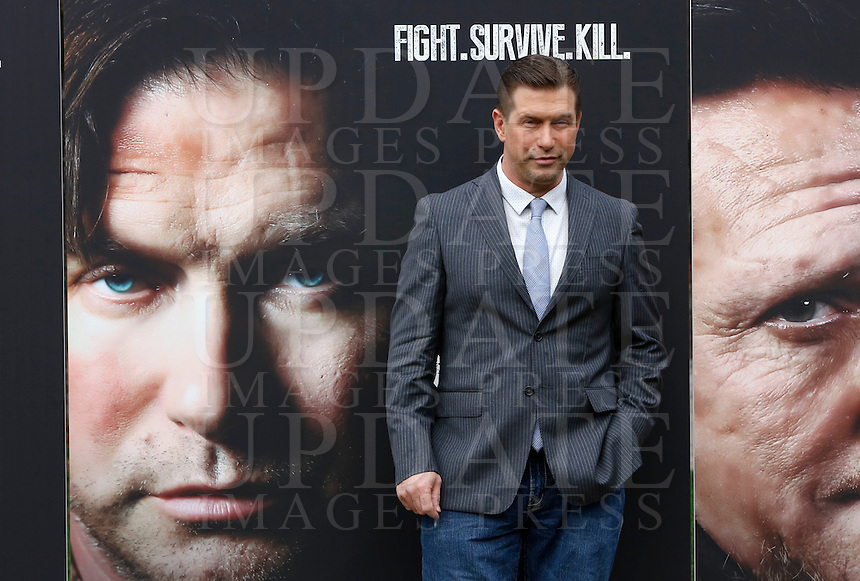 L'attore statunitense Stephen Baldwin posa durante un photocall in occasione dell'inizio delle riprese del film &quot;Sights of Death&quot; a Roma, 23 gennaio 2014.<br /> U.S. actor Stephen Baldwin poses during a photocall on the occasion of the start of the shooting of the movie &quot;Sights of Death&quot; in Rome, 23 January 2014.<br /> UPDATE IMAGES PRESS/Riccardo De Luca