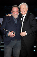 Bouli Lanners &amp; Andr&eacute; Dussollier :  7&egrave;me C&eacute;r&eacute;monie des Magritte du Cin&eacute;ma, qui r&eacute;compense le septi&egrave;me art belge, au Square, &agrave; Bruxelles.<br /> 7th edition of the Magritte du Cinema awards ceremony.<br /> Belgium, Brussels, 4 February 2017
