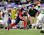 3 December 2009: Buffalo Bills' running back Marshawn Lynch (23) makes a 35-yard rushing gain against the New York Jets at the Rogers Centre in Toronto, Ontario, Canada. The Bills fell to the Jets 19-13. Mandatory Credit: Ed Wolfstein Photo