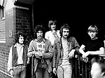 Fleetwood Mac 1968 Jeremy Spencer, Peter Green, Mick Fleetwood, John McVie and Danny Kirwan<br /> &copy; Chris Walter