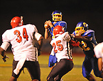 Oxford High's Parker Adamson (3) passes vs. Center Hill in Oxford, Miss. on Friday, September 23, 2011.
