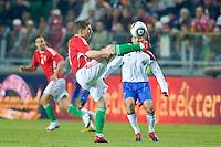 Hungary-Russia friendly soccer match