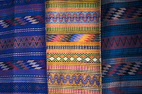 Mayan woven textiles for sale in Antigua, Guatemala