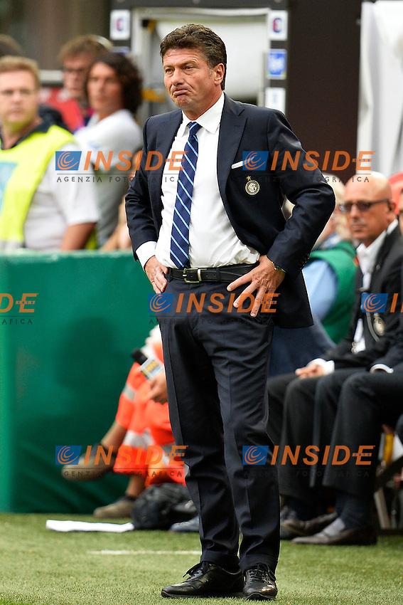 Walter Mazzarri Inter <br /> Milano 25/8/2013 Stadio Giuseppe Meazza <br /> Football Calcio Serie A<br /> Inter - Genoa <br /> Foto Andrea Staccioli Insidefoto