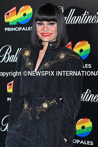 """JESSIE J.attends the 40 Principales 2011 Awards..Shakira """"The Hips Don't Lie"""" Columbian hitmaker, picked up the award for Most Influential Latin Artist and Best Foreign Artist in the Spanish Language. While Enrique Iglesias walked away with the Best Music Video prize for Tonight (I'm Loving You) and Most Influential Spanish Artist in the World Award..The event at Madrid's Palacio de los Deportes saw performances by Shakira, Enrique Iglesias, British pop star Jessie J and Romanian singer Alexandra Stan..Los 40 Principales is the main musical radio station in Spain with more than four million listeners_09/12/2011.Mandatory Credit Photo: ©NEWSPIX INTERNATIONAL..                 **ALL FEES PAYABLE TO: """"NEWSPIX INTERNATIONAL""""**..IMMEDIATE CONFIRMATION OF USAGE REQUIRED:.Newspix International, 31 Chinnery Hill, Bishop's Stortford, ENGLAND CM23 3PS.Tel:+441279 324672  ; Fax: +441279656877.Mobile:  07775681153.e-mail: info@newspixinternational.co.uk"""