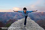 Climber and Yogi Etsuko Kawski loves the Grand Canyon! She and her husband will often drive 4+ hours each way just for a weekend hike here.
