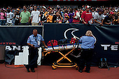 Houston, Texas<br /> October 2, 2011<br /> <br /> Medical units sand by on the sidelines as the Houston Texans take on the Pittsburgh Steelers at the Reliant Stadium. The Texans win 17 to 10.