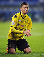 FUSSBALL   1. BUNDESLIGA   SAISON 2011/2012   18. SPIELTAG Hamburger SV - Borussia Dortmund     22.01.2012 Moritz Leitner (Borussia Dortmund)