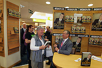 NO FEE PICTURES.15/10/11 Eason, Ireland's leading retailer of books, stationery, magazines and lots more, hosted a book signing byRTE presenter, Joe Duffy. Pictured at Eason,O'Connell Street, Dublin is Joe Duffy who signed copies of his new autobiography Just Joe..Follow Eason on Twitter @easons. Pictures:Arthur Carron/Collins