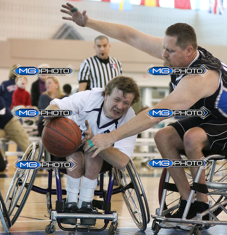 150116 Lakeshore vs Orlando Magic Wheel Chair Basketball