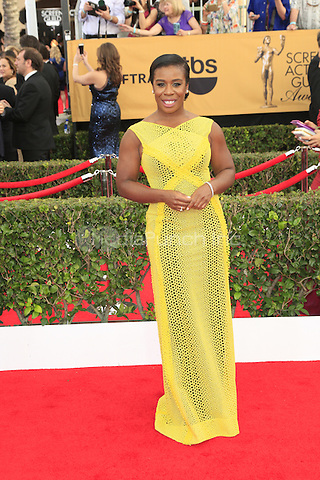 Uzo Aduba at the 2015 Screen Actor Guild Awards at the Shrine Auditorium on January 25, 2015 in Los Angeles, CA David Edwards/DailyCeleb/MediaPunch