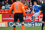 Dundee Utd v St Johnstone..26.12.12      SPL.Liam Craig shoots for goal.Picture by Graeme Hart..Copyright Perthshire Picture Agency.Tel: 01738 623350  Mobile: 07990 594431