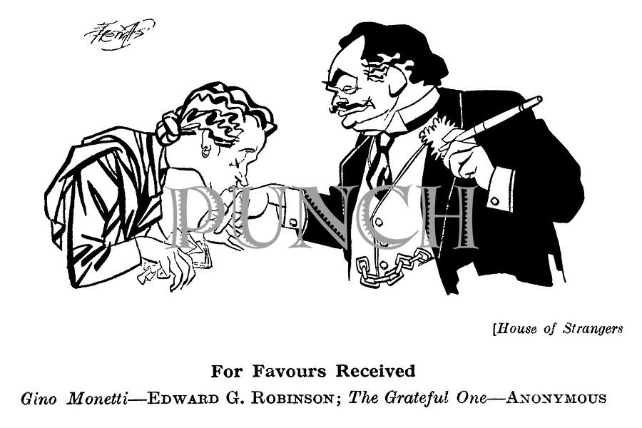 House of Strangers ; Edward G Robinson........