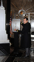 NEW YORK, NY November 14:Jude Law Lights The Empire State Building In Honor Of Only Make Believe at the Empire State Building in New York City.November 14, 2016. Credit:RW/MediaPunch