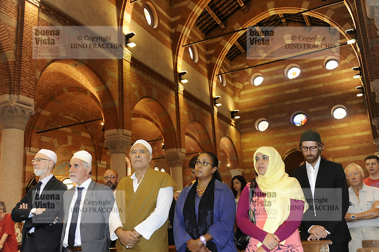 Musulmani in chiesa