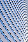 Downtown office buildings focus on glass windows Seattle Washington State USA