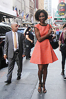NEW YORK, NY-September 09: Sage Steele at Good Morning America to take about hosting Miss America in New York. NY September 09, 2016. Credit:RW/MediaPunch
