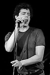 Lou Reed, Sept. 3, 1980, Old Waldorf, San Francisco. American rock musician, songwriter, and photographer. He is best known as guitarist, vocalist, and principal songwriter of The Velvet Underground, and for his successful solo career, which spans several decades and crosses multiple genres.