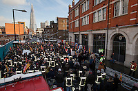 21.01.2013 - London Firefighters Protest
