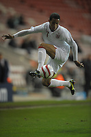 Football-England U21 v Northern Ireland U21-Bloomfield Road-13/11/2012-Pictures by Paul Currie-Keep-Thomas Ince