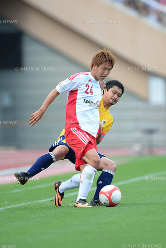 JUNE 16, 2013 - Football / Soccer : the 2013 J.League Special Match for reconstruction support of the Great East Japan Earthquake between J.League TEAM AS ONE 2-1 J.League all-star team at National Stadium, Tokyo, Japan. (Photo by AFLO)