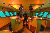 Wheelhouse of a Dutch fishing vessel