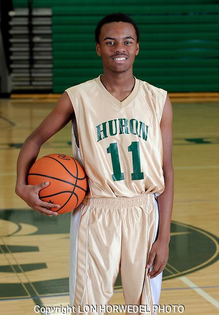 2014-15 Huron High School boy's freshman basketball team.