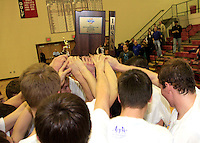 Basketball Sectional Celebration