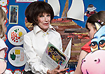 Actress Fenella Fielding (Carry on Screaming) promting a volunteering initiative - Timebank