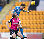 St Johnstone v Dundee&hellip;11.03.17     SPFL    McDiarmid Park<br />Paul Paton heads saints into a 1-0 lead<br />Picture by Graeme Hart.<br />Copyright Perthshire Picture Agency<br />Tel: 01738 623350  Mobile: 07990 594431