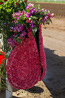 ARCADIA, CA APRIL 8: Santa Anita Derby flowers (Photo by Casey Phillips/Eclipse Sportswire/Getty Images)