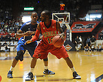 Mississippi's Chris Warren vs. Memphis's Elliot Williams in NIT second round basketball action at the C.M. &quot;Tad&quot; Smith Coliseum in Oxford, Miss. on Friday, March 19, 2010. Ole Miss won 90-81.