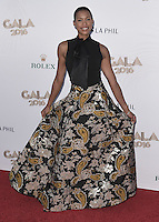 LOS ANGELES, CA - SEPTEMBER 27:  Kearran Giovanni at the 2016/17 Los Angeles Philharmonic Opening Night Gala and Concert: Gershwin and the Jazz Age at the Walt Disney Concert Hall on September 27, 2016 in Los Angeles, California. Credit: mpi991/MediaPunch