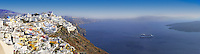 Panorama of Fira, Santorini, Greece