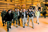 Kabul, Afghanistan - December 9, 2009 -- United States Secretary of Defense Robert M. Gates tours the training center of the Afghan Army Air Corps in Kabul, Afghanistan, Wednesday, December 9, 2009. Secretary Gates is on his first trip back to southwest asia after U.S. President Barack Obama agreed to send an additional 30,000 troops to Afghanistan. .Mandatory Credit: Jerry Morrison - DoD via CNP
