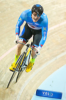 Picture by Alex Whitehead/SWpix.com - 02/03/2017 - Cycling - UCI Para-cycling Track World Championships - Velo Sports Center, Los Angeles, USA - Men's C1 1 km Time Trial Final. Gold - WILSON Ross CANADA
